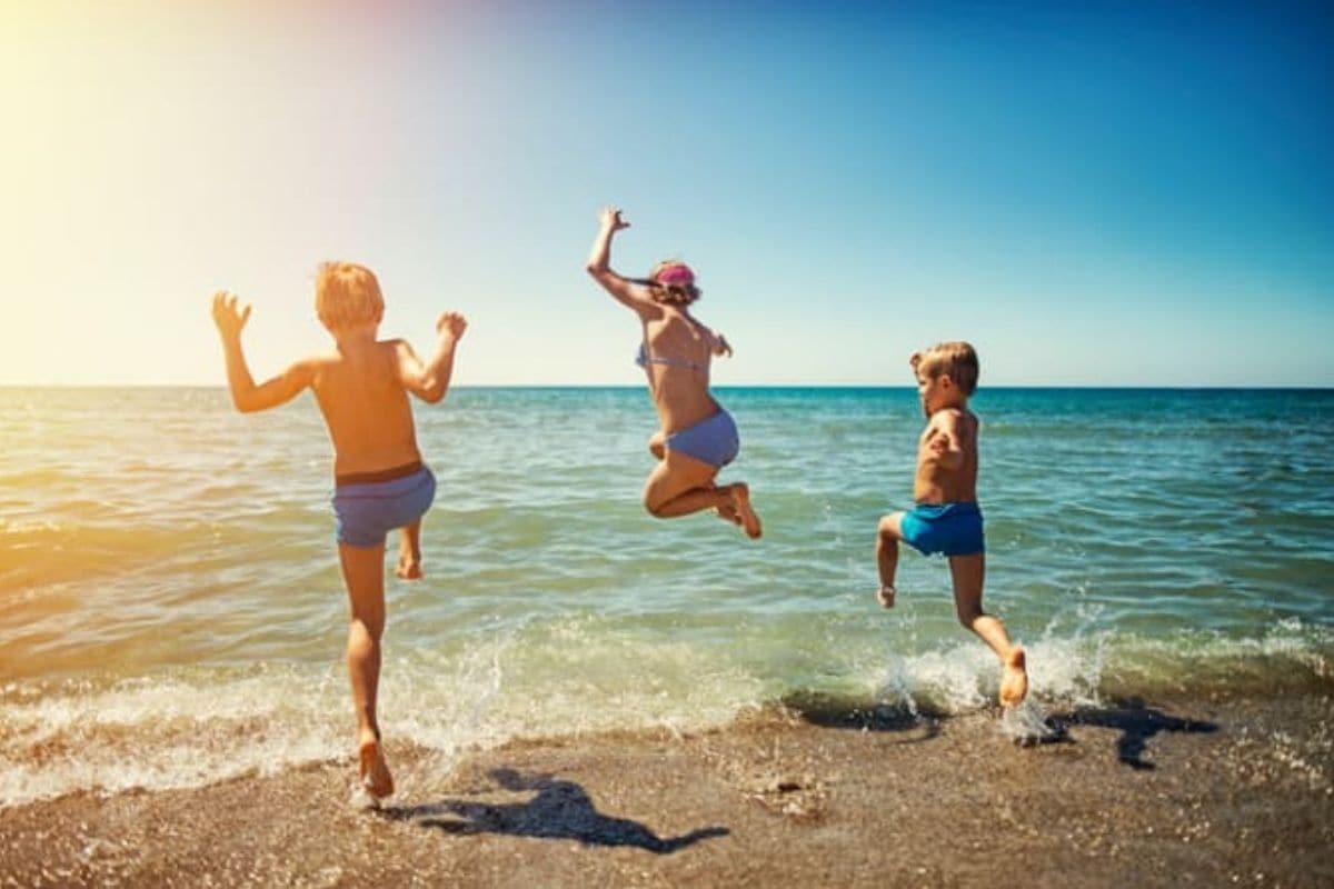 spiagge per bambini bandiere verdi