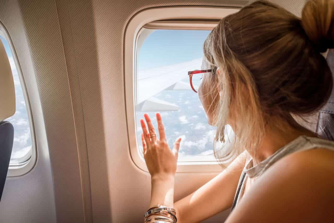 Le tendine dei finestrini degli aerei