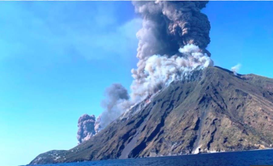 Che Cos è Stromboli Storia Del Vulcano Ultima Eruzione