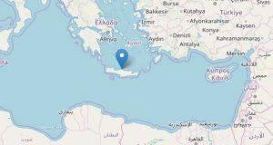 Terremoto di magnitudo 5.2 a Creta