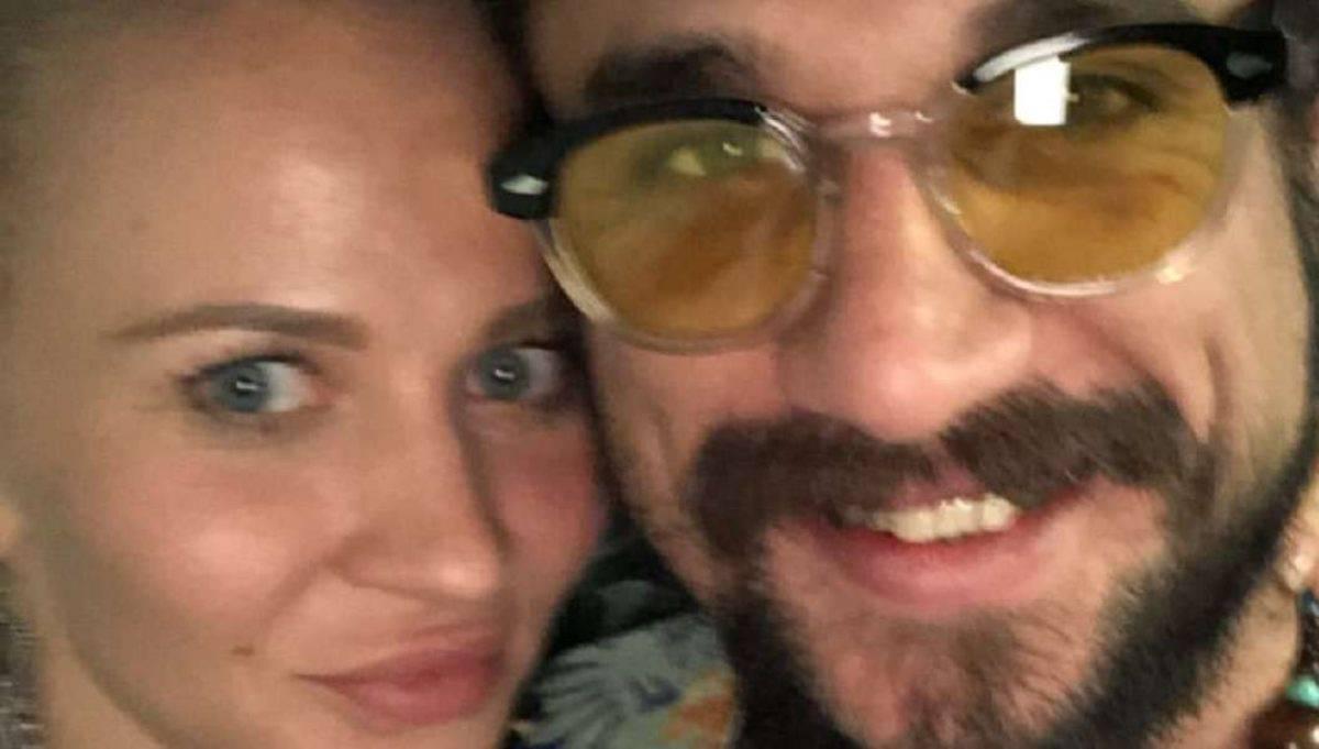 Dani Osvaldo e Veera Kinnunen: la foto del bacio