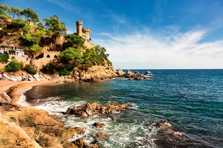 Clima costa brava Spagna