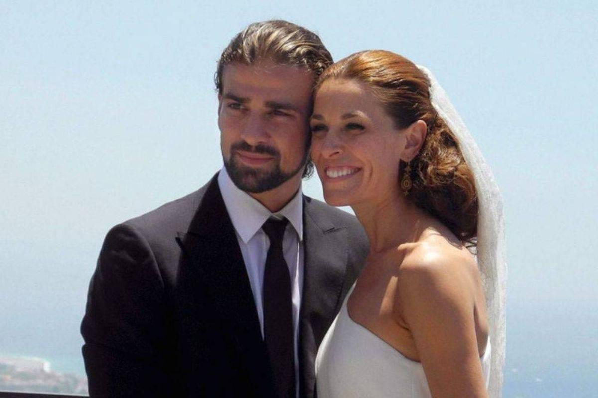 Mario Biondo moglie Raquel