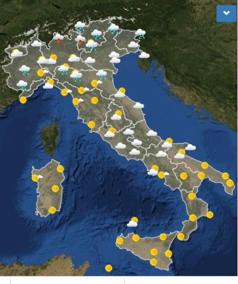 meteo italia dopodomani
