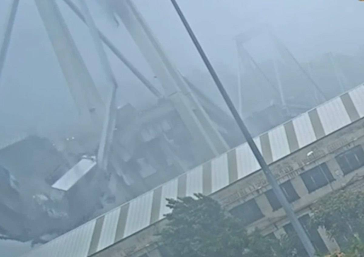 Ponte Morandi crollo