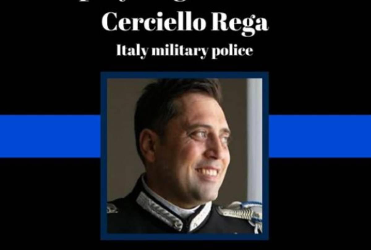 Carabiniere ucciso, la polizia americana rende omaggio