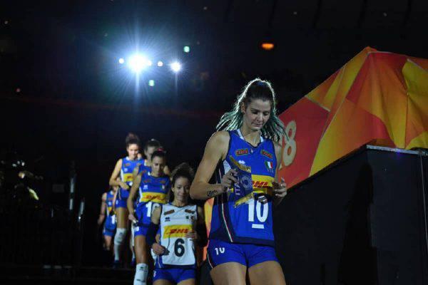 Italia Slovenia volley femminile