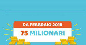 Estrazione Million Day 23 agosto 2019: numeri in diretta oggi