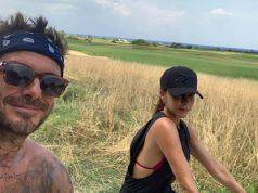 Victoria Adams e David Beckham