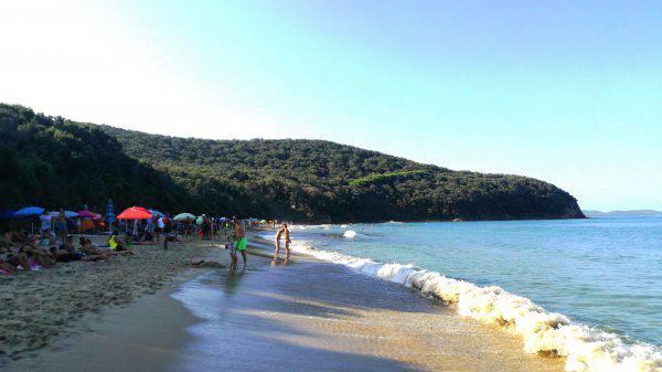 cala violina spiaggia come arrivare