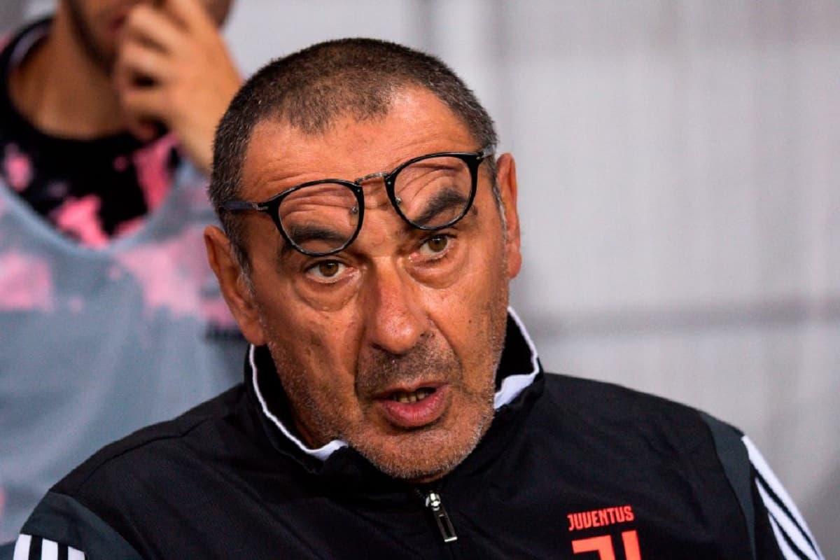 Juventus, brutte notizie: il problema di salute di Sarri è serio, non ci sarà col Parma