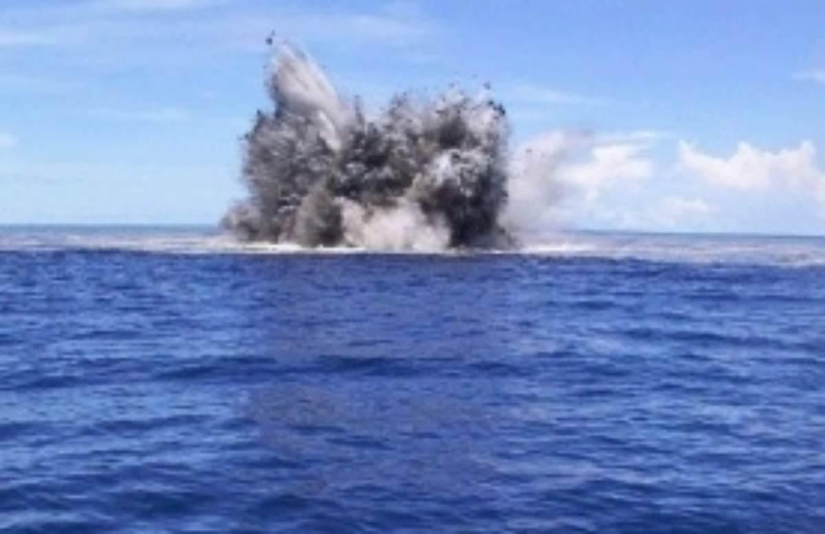 scoperti sei vulcani sottomarini