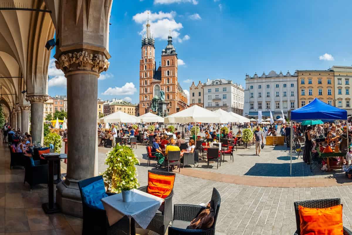 cracovia capitale europea cultura gastronomica