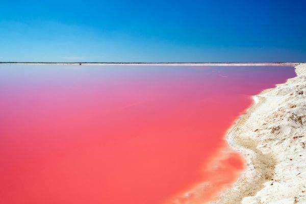 lago hillier rosa australia