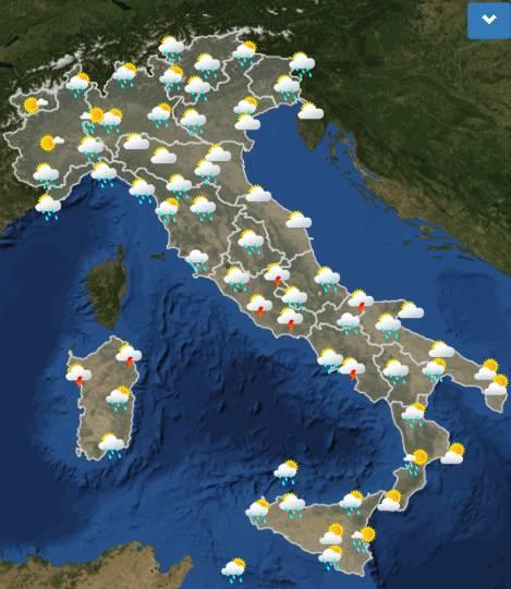 meteo italia 1 settembre