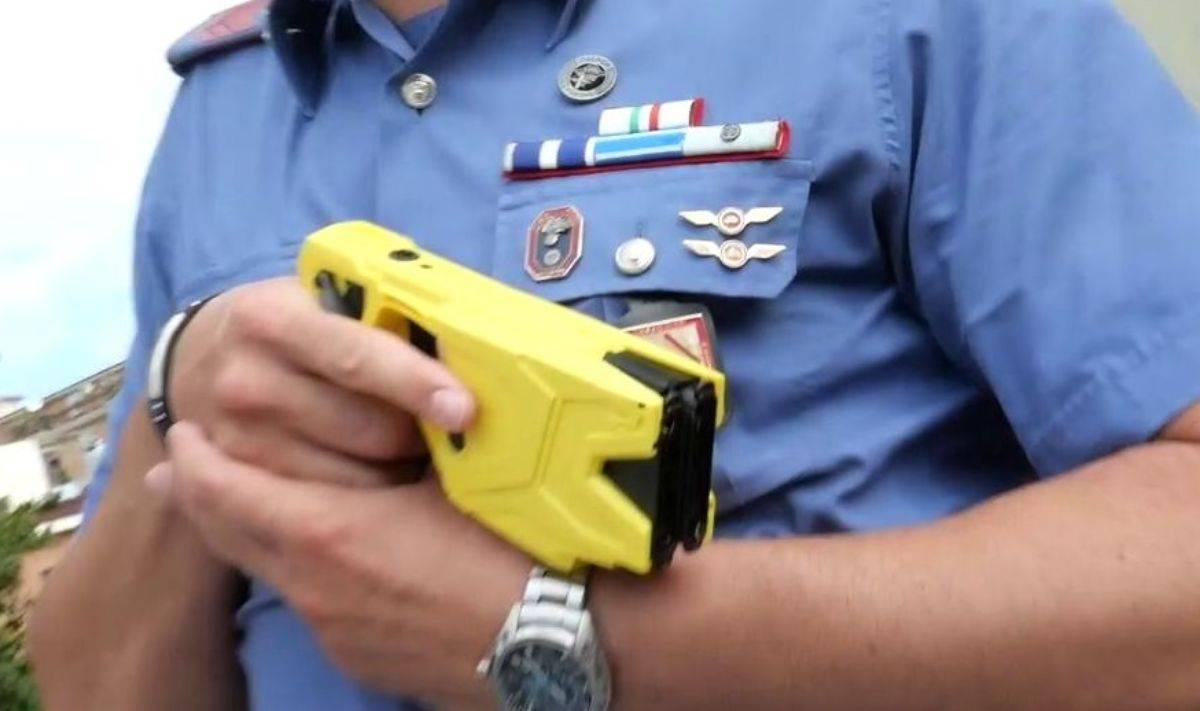 taser polizia