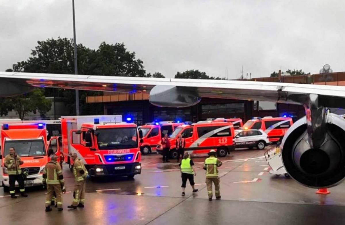 Eurowings, turbolenze sul volo per Berlino