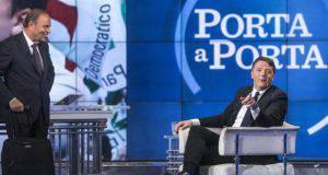Renzi lascia Pd Porta a Porta