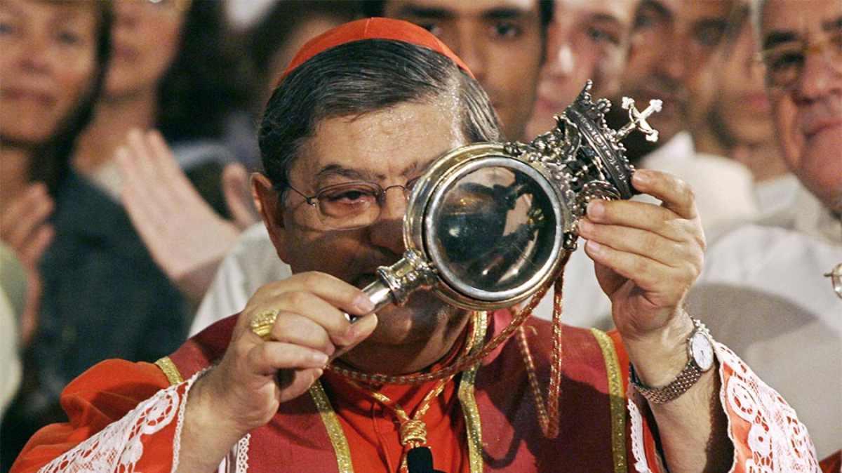 San Gennaro, liquefazione sangue
