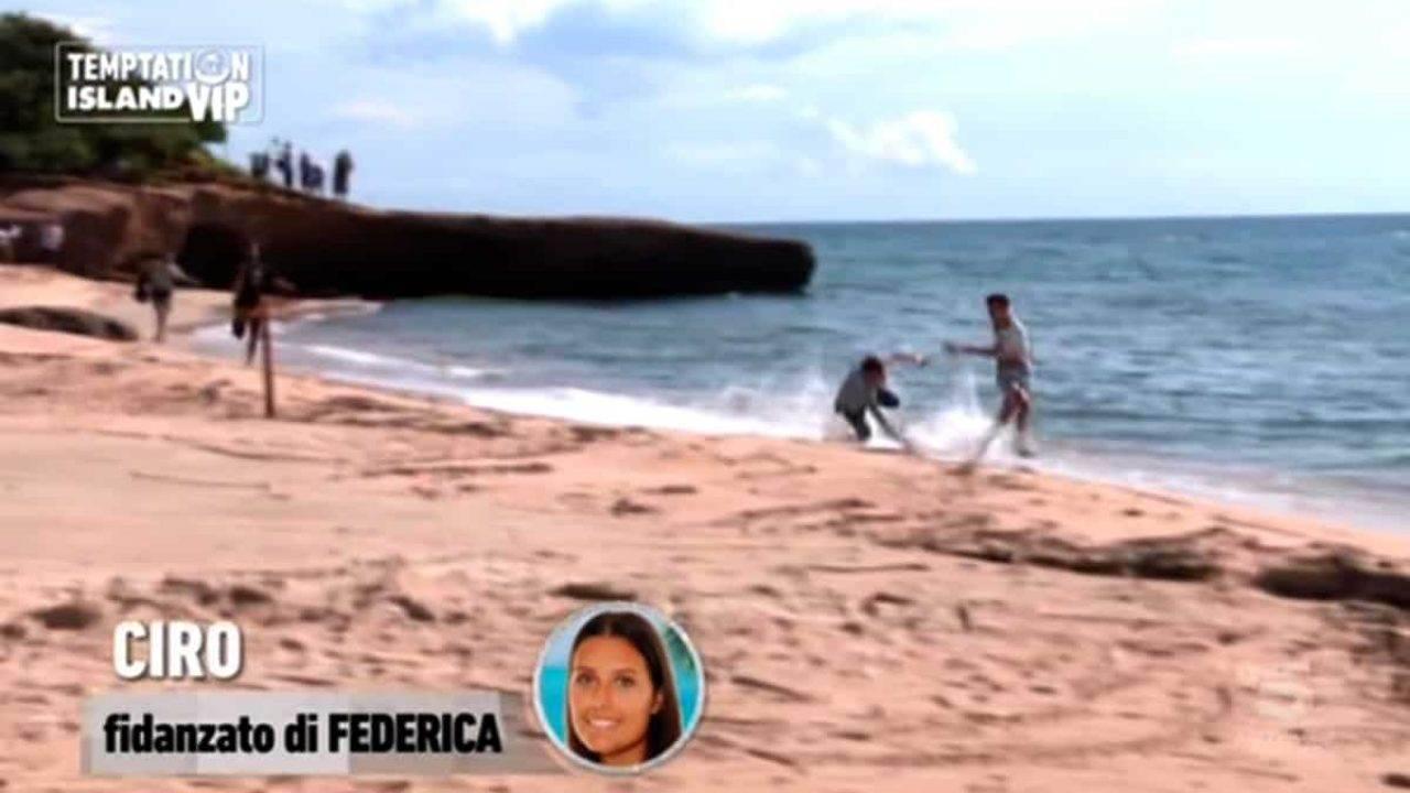 Temptation Island Vip, Ciro scappa dalla sua Federica