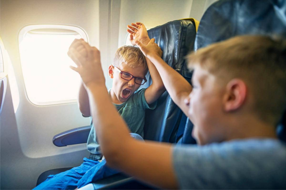posto aereo bambini
