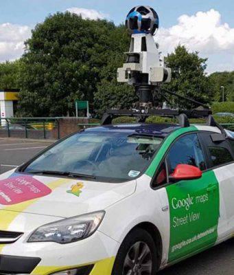 cadavere ritrovato Google Maps
