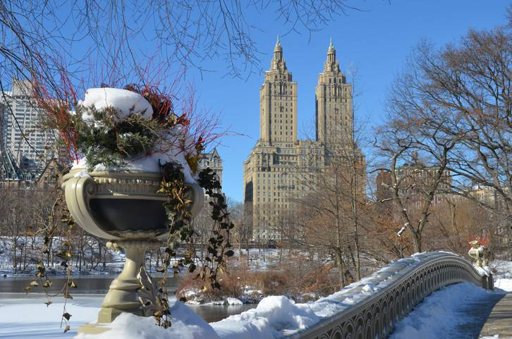 natale a new york clima