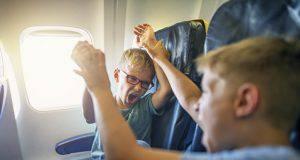 bambini aereo