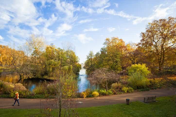 St james's park parchi londra