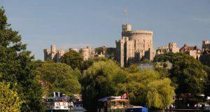 Castello di Windsor vicino Londra