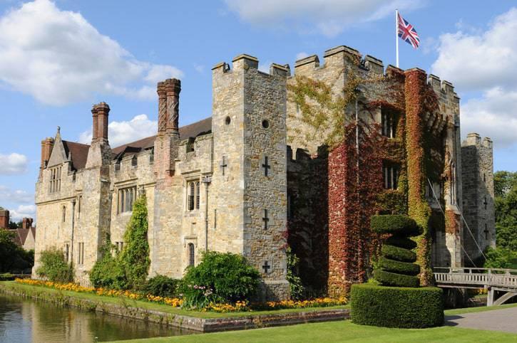 castello di hever londra