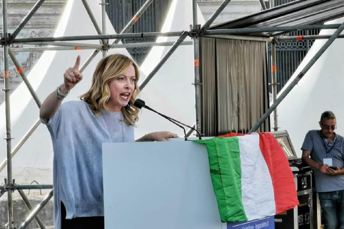 """Manifestazione Piazza San Giovanni, Meloni: """"No all'islamizzazione""""-LIVE"""