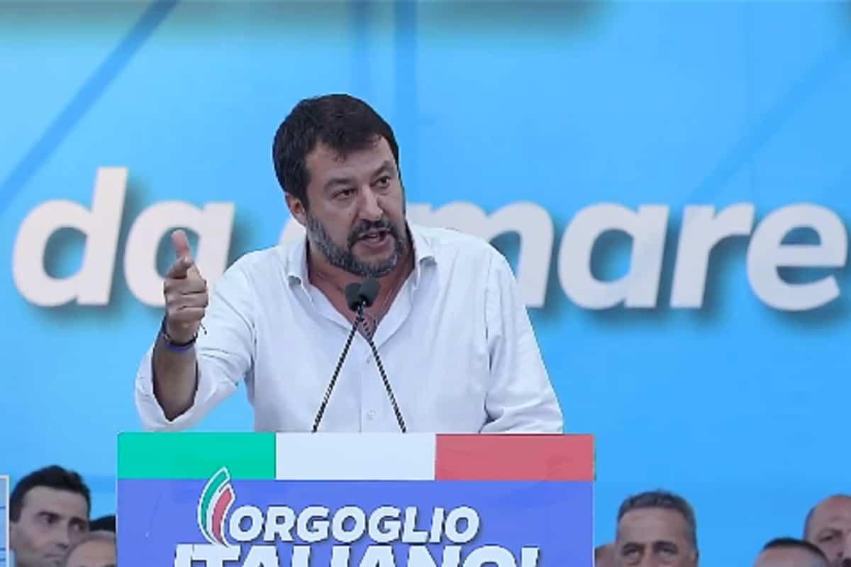 """Manifestazione Piazza San Giovanni, Salvini: """"Siamo 200mila"""" – VIDEO"""
