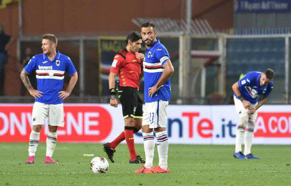 verona sampdoria streaming