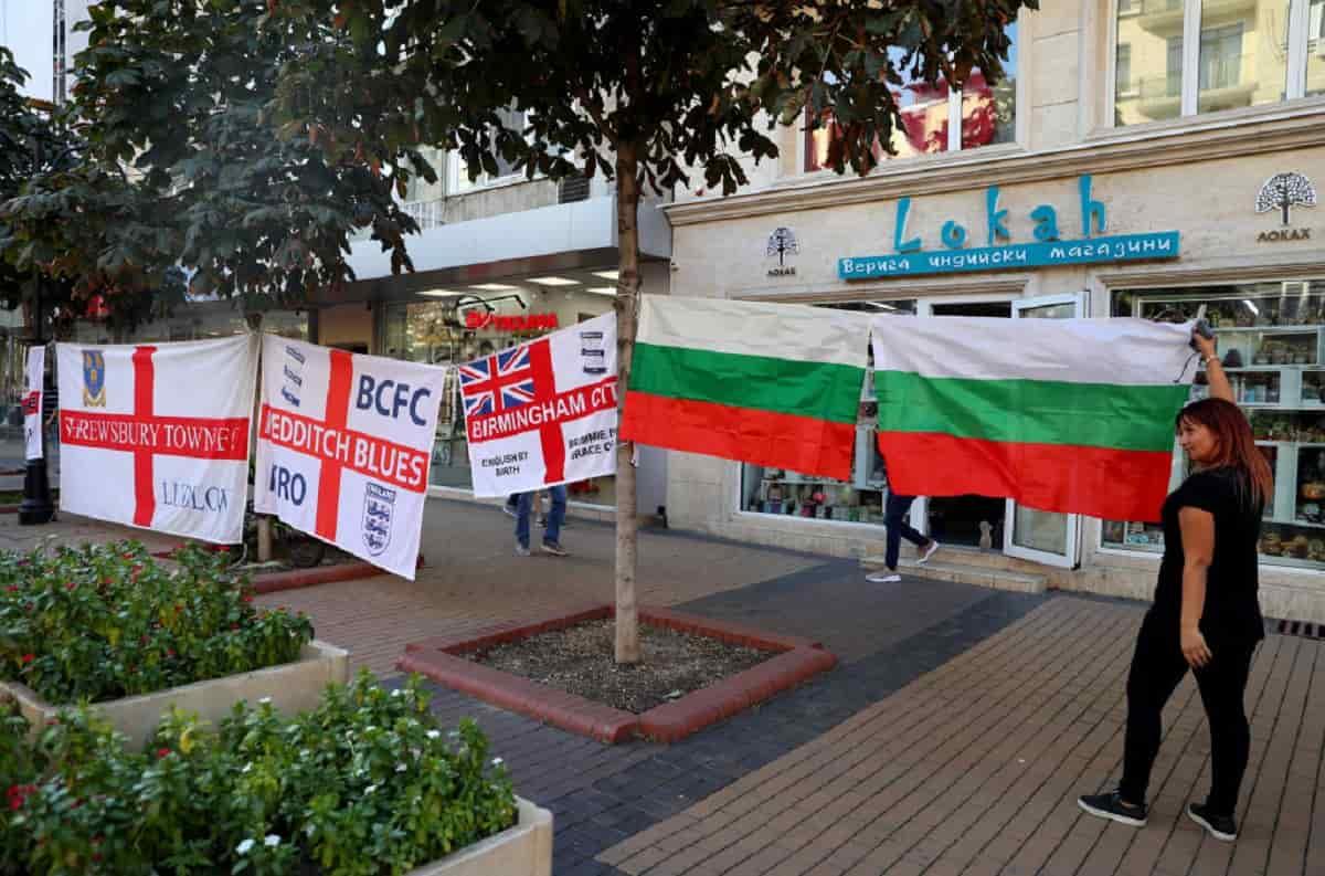 Bulgaria – Inghilterra, grave tragedia prima della partita
