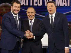 Porta a Porta Renzi Salvini