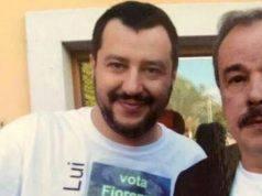 Salvini con il compianto Marzari