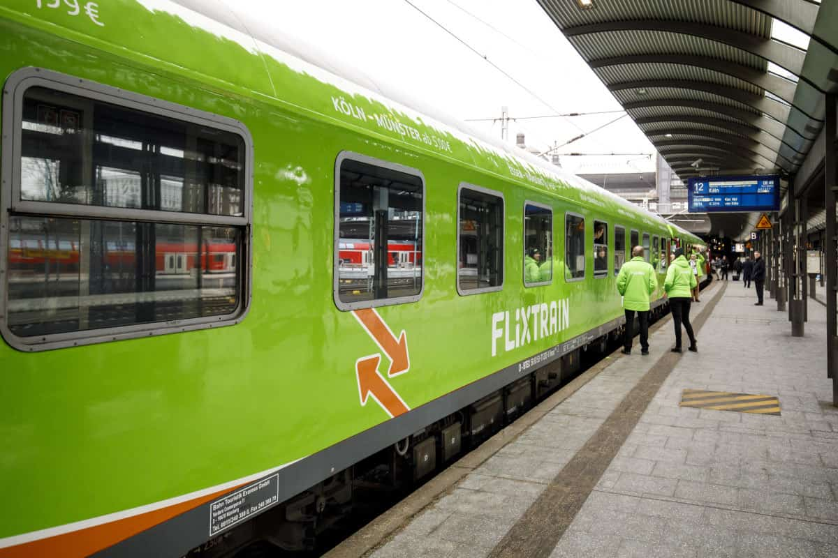 flixtrain treno low cost