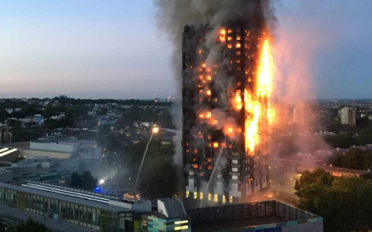Grenfell Tower incendio