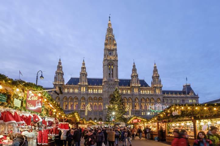mercatini di natale di vienna 2019