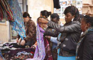 mercato africano parigi rue dejean