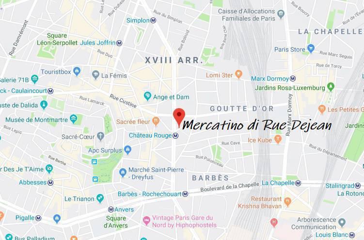 mercato africano parigi dove si trova