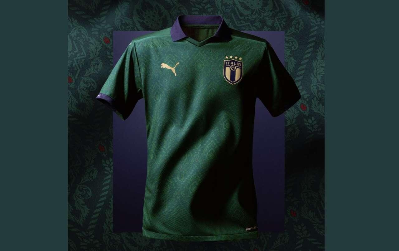 Italia Grecia maglia verde