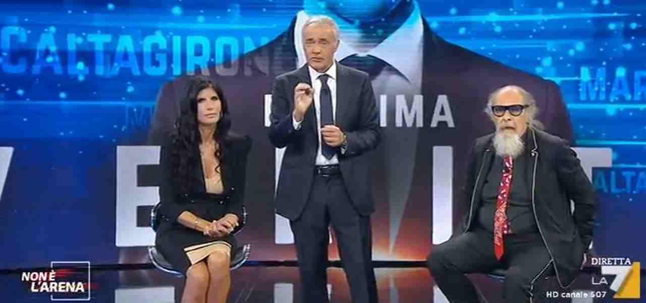 Pamela Prati da Massimo Giletti
