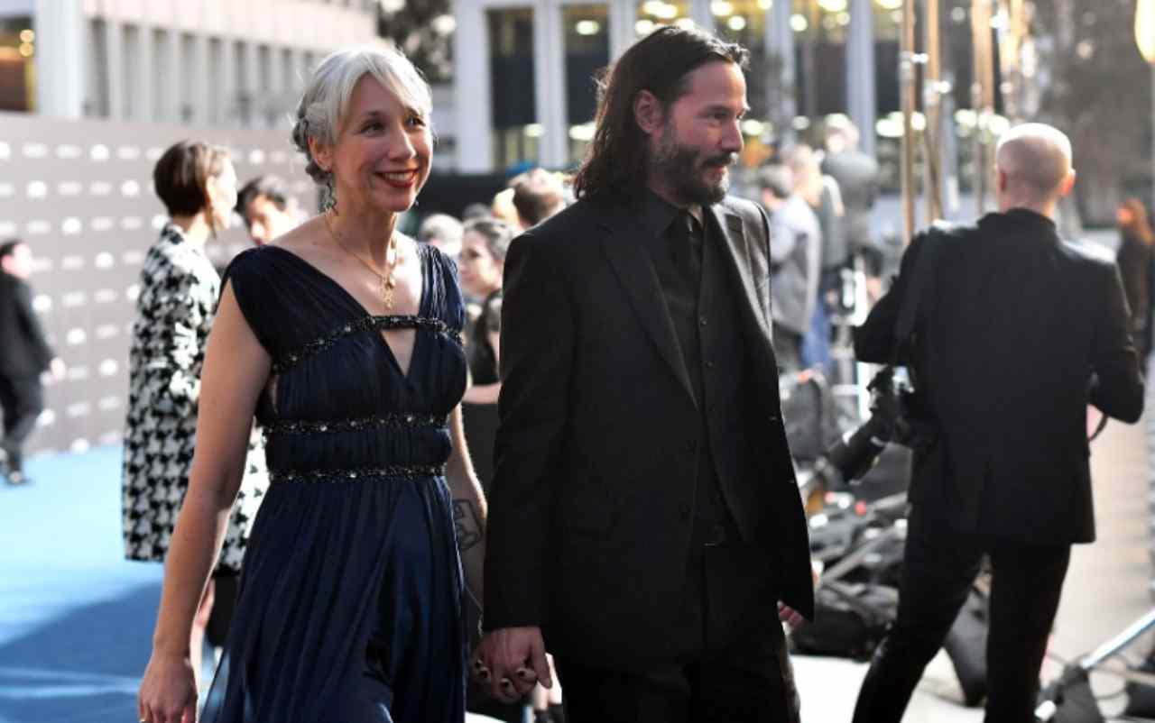 Keanu Reeves fidanzata