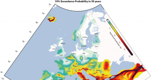 mappa terremoto europa