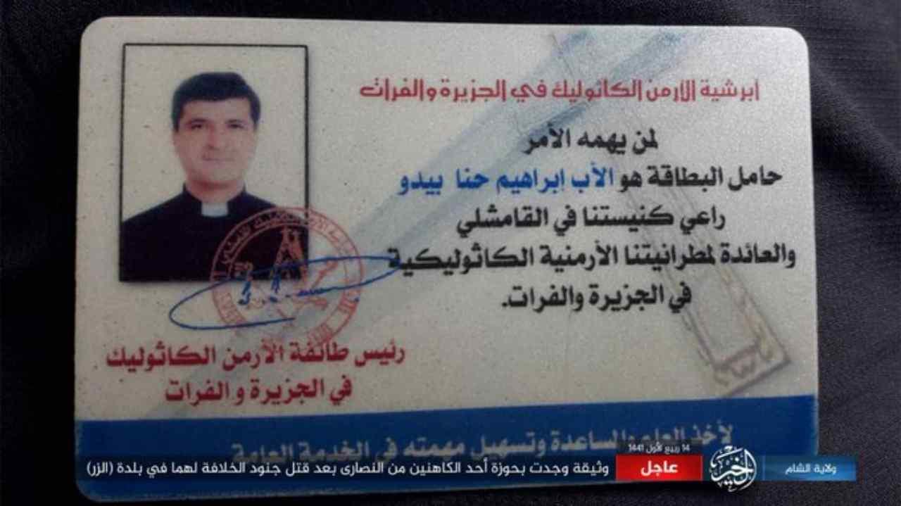 preti uccisi Siria