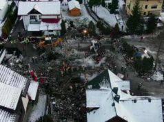 Esplosione fa crollare una palazzina |  8 le vittime tra cui 4 bambini