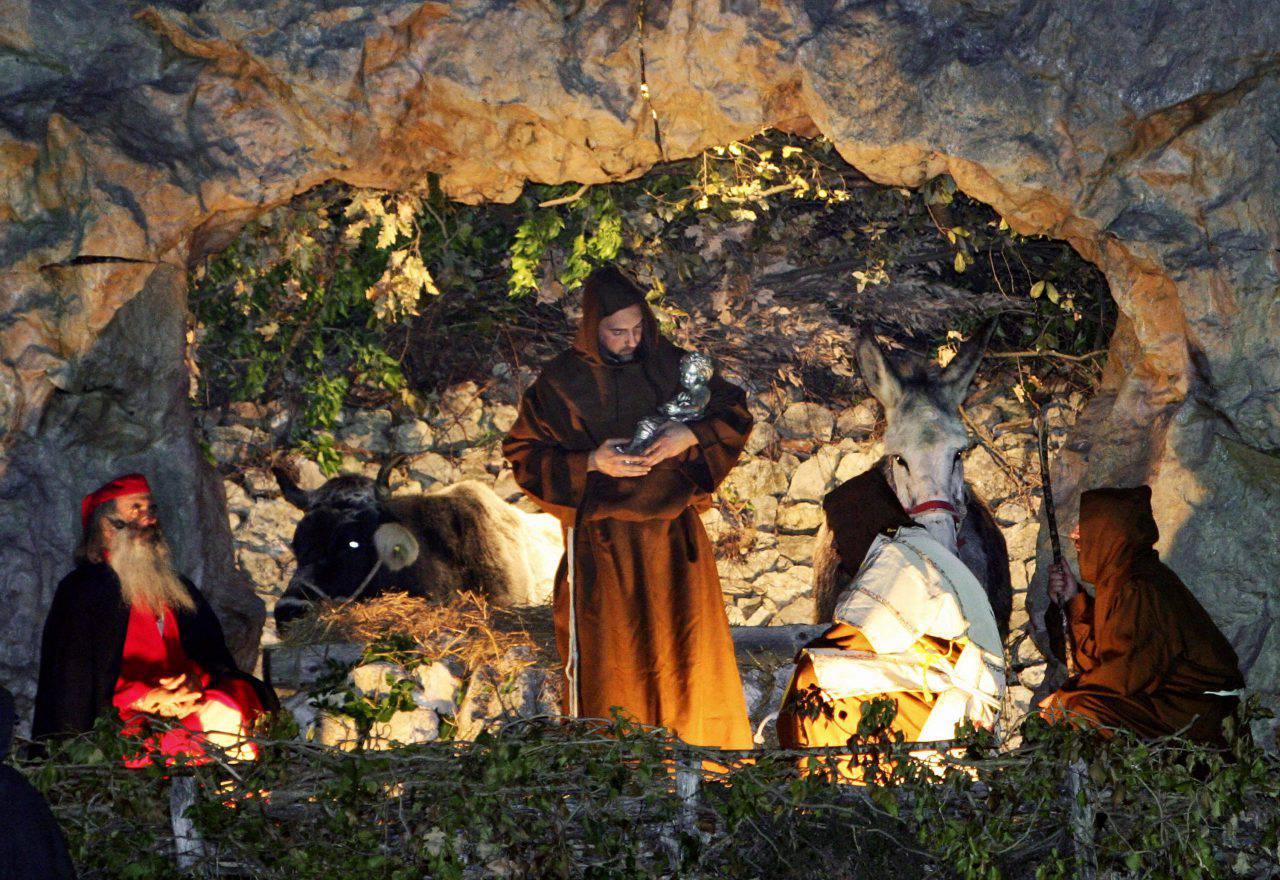 Greccio San Francesco