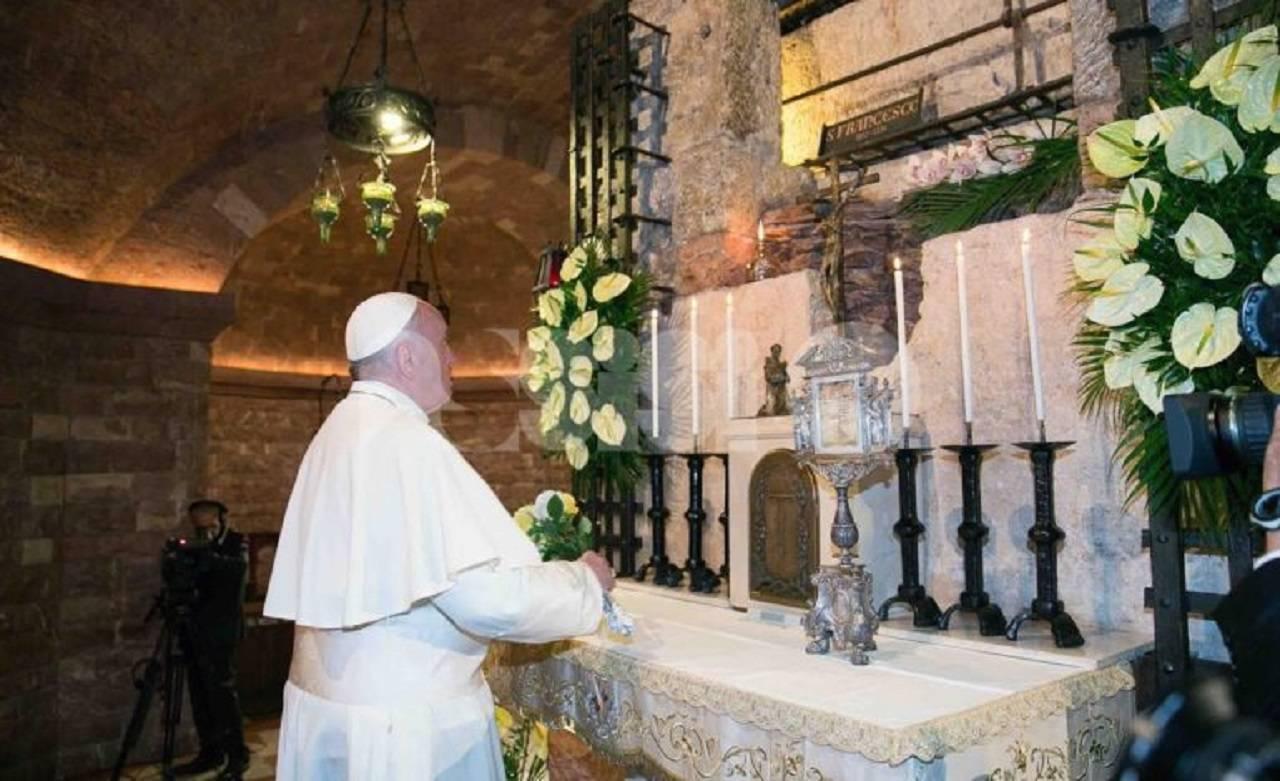 Greccio Papa Francesco